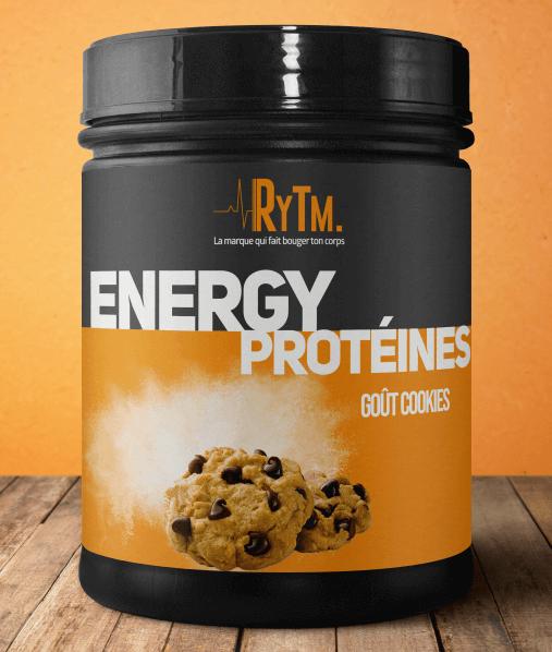 Présentation du produit energy proteine