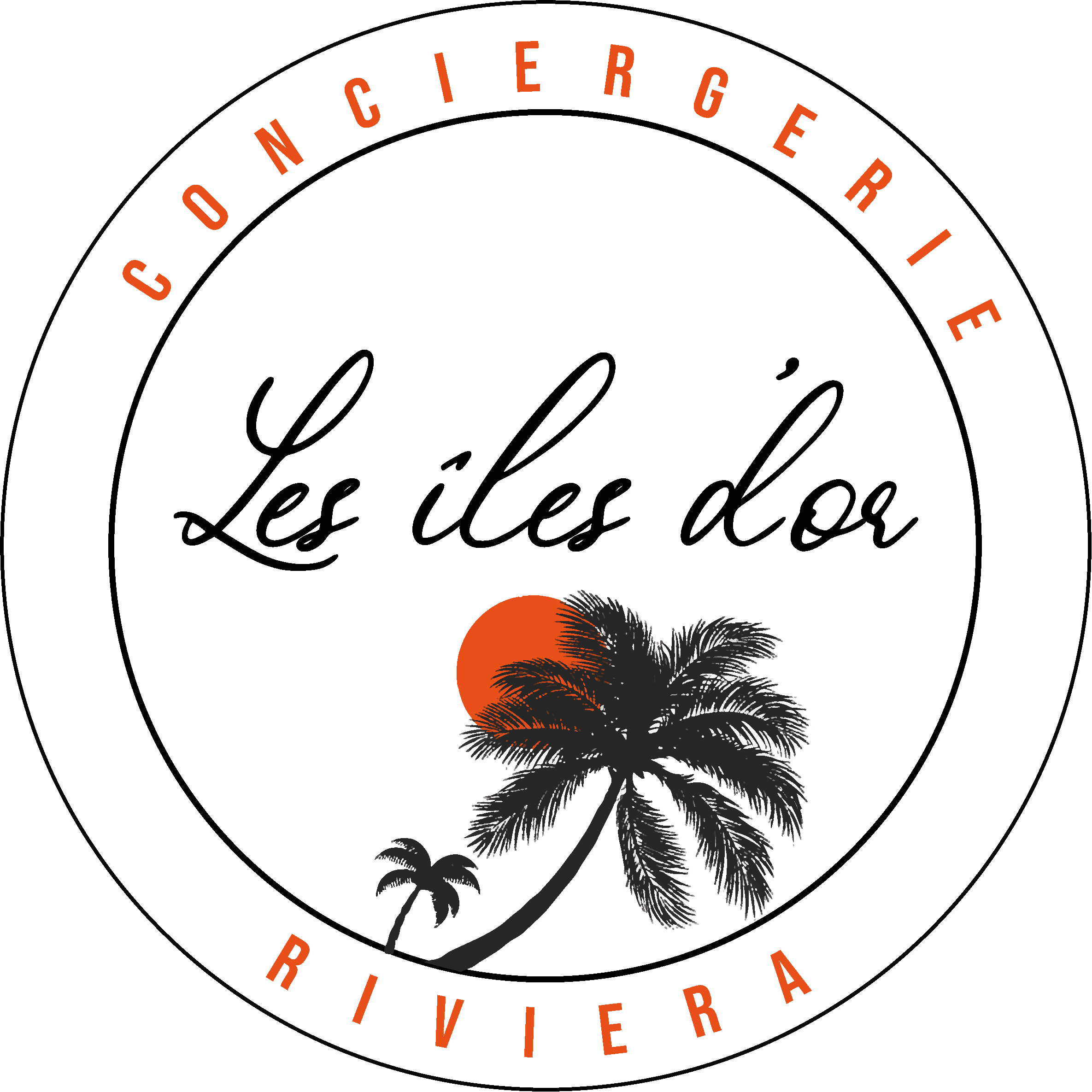 Logo conciergerie version blanc
