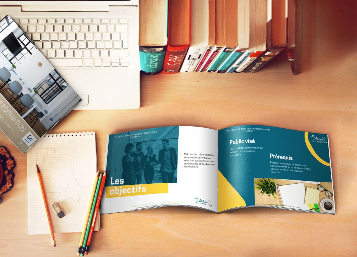 Brochure organisme de formation