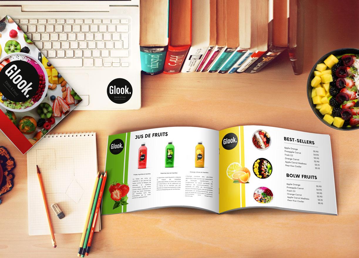 Brochure glook