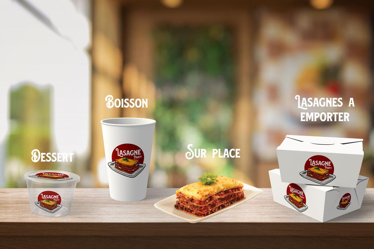 Mise en scène des packagings