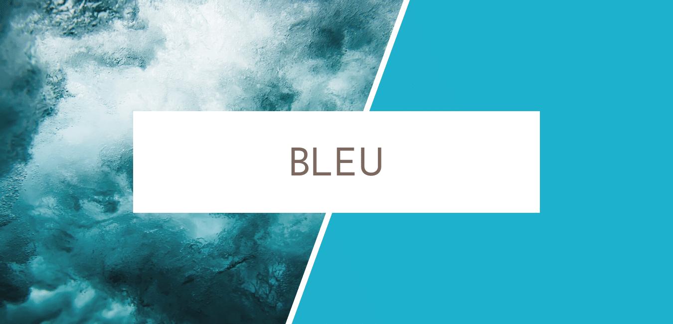 signification couleur bleu