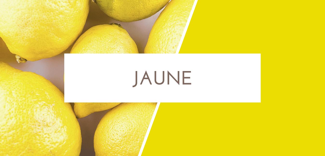 signification couleur jaune