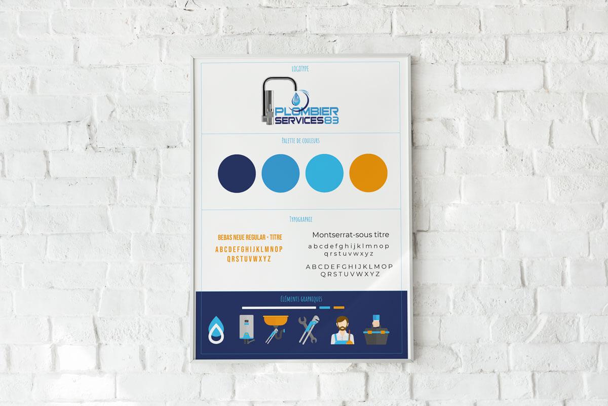 Charte graphique Plomberie