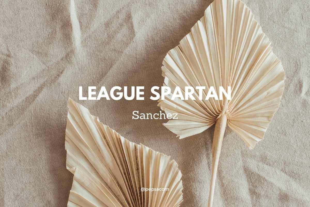 League spartan combinaison de typographie