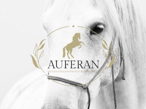 Logo Auferan textiles équitation