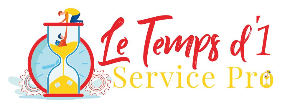 Logo officiel le temps d'1 service pro