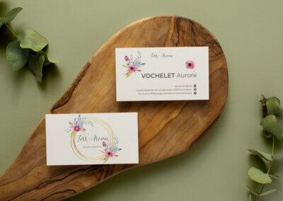Carte de visite haut de gamme aromatherapie