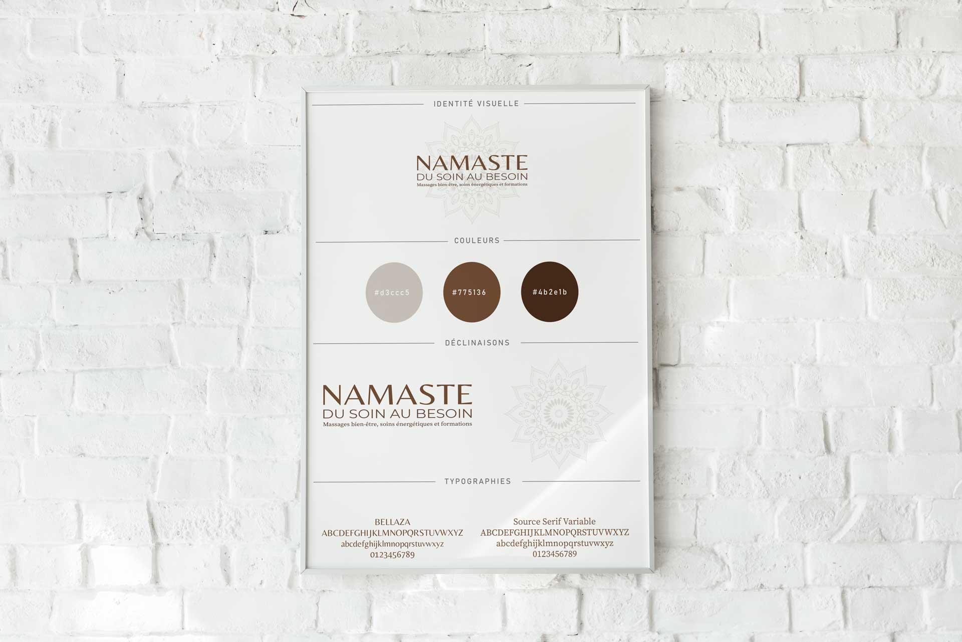 Charte graphique massage bien etre