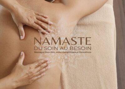 Namasté, massage sollies pont