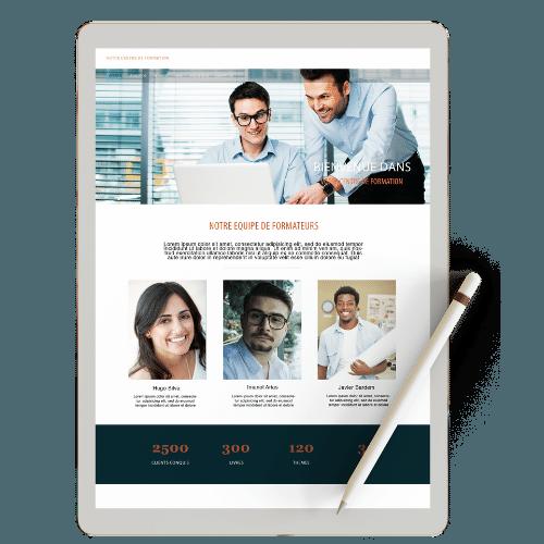 Site internet pour organisme de formation