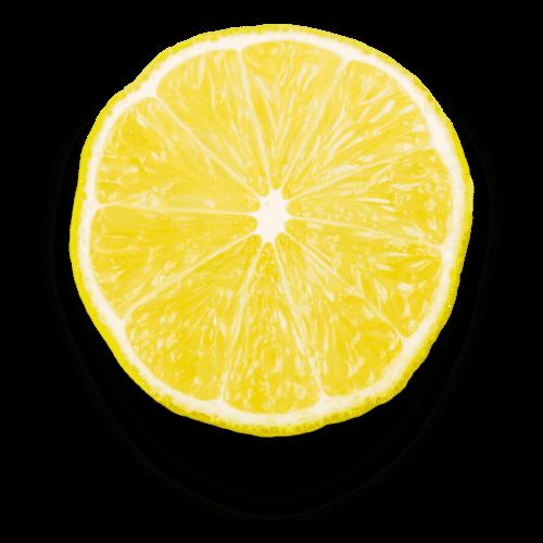 Le studio graphique et sa rondelle de citron jaune